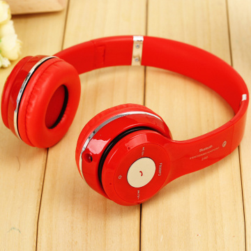 Stereo Headband Magnetic Wireless Bluetooth Studio Headphone