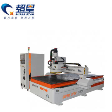 Wood cnc router  with ATC