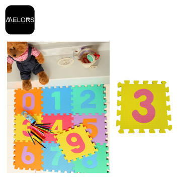 Baby Interlocking EVA Foam Numbers Puzzle Mat