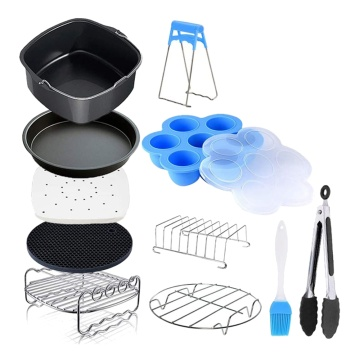 11 Pieces of Square Air Fryer Accessories, Suitable for Air Fryer, COSORI and Other Square Air Fryer and Oven