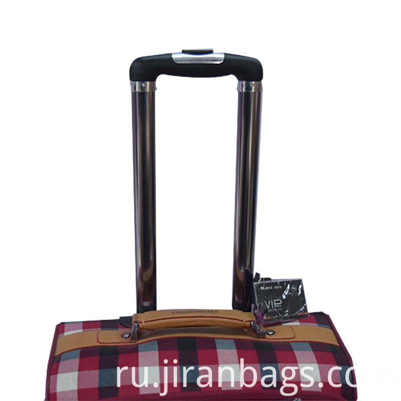Clourful trolley Luggage suitcase