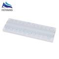 10pcs NEW MB-102 MB102 Breadboard 830 Point Solderless PCB Bread Board Test Develop DIY White/Transparent