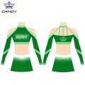 Off Shoulder Cheer Crop Top
