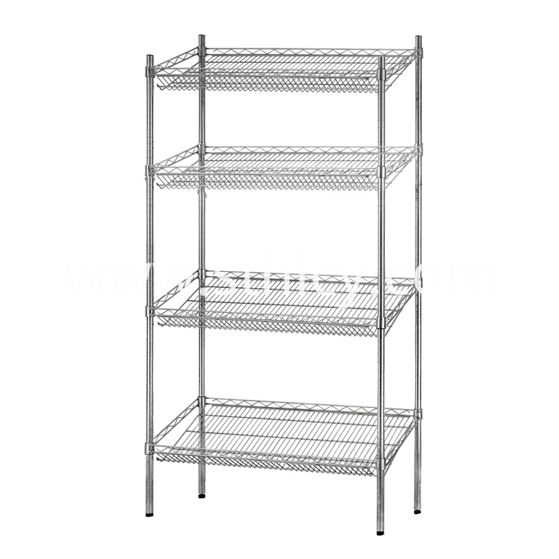 4-Shelf Shelving Storage Rack