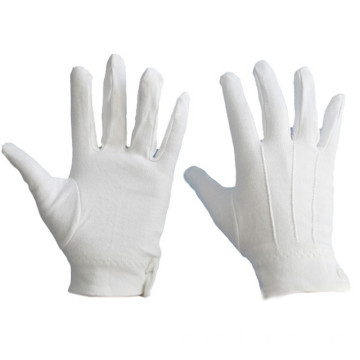 Military Cotton Glove Uniform Parade Glove