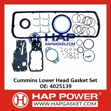 Cummins Lower Head Gasket Set 4025139