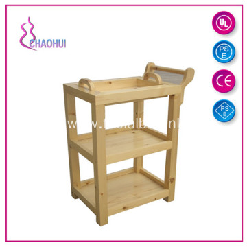 Fashion Medical Wood Beauty Salon Trolley