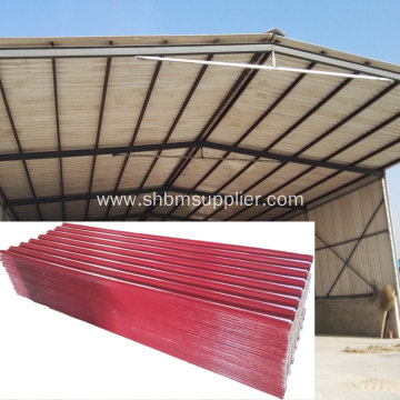 Fire-proof Anti Corrosion PET Foil MgO Roofing Sheets
