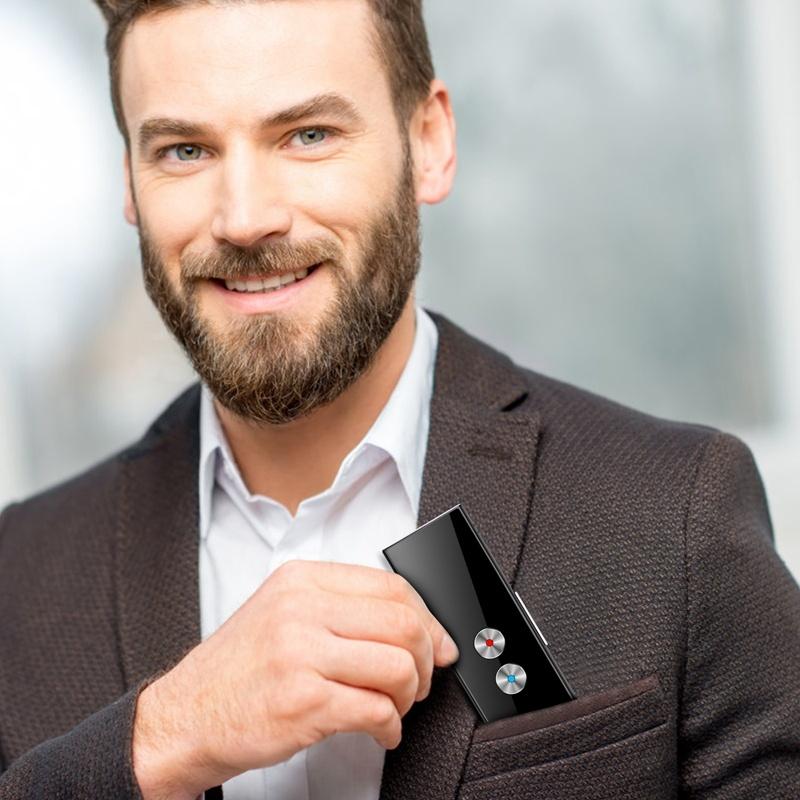 Portable Mini Wireless Smart Translator 68 Languages Two-Way Real Time Instant Voice Translator App Bluetooth M-Language