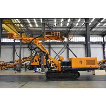 Solid Rock Bore Well Drilling Rig Machine