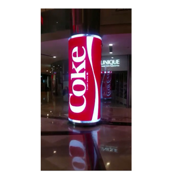 P2.5 full color advertising flexible indoor led screen