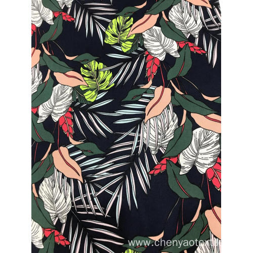 Layered Design With Cotton Stretch Twill Printing Fabric