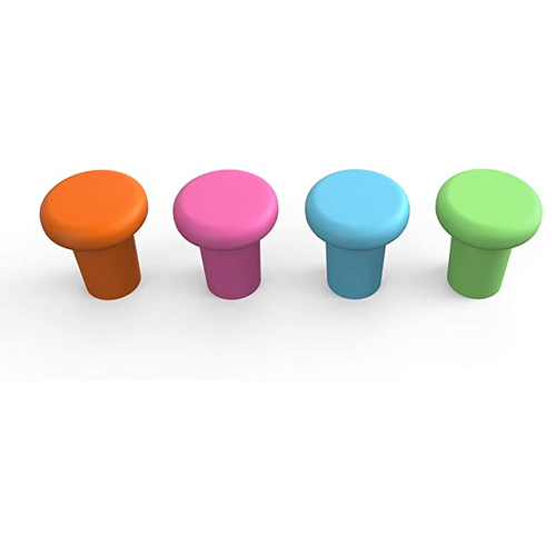 Reusable Food Grade Silicone Wine Stoppers