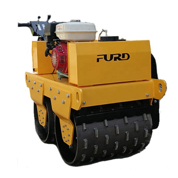 Self-propelled vibratory road sheep foot roller compaction equipment FYL-S600