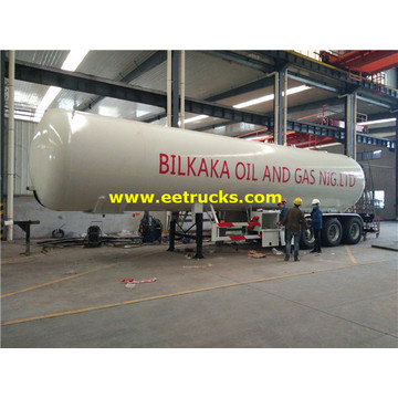 56000l 3 axle LPG Semi-trailer Tanks