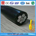 China best sell 0.6/1kv 1000v aerial cables