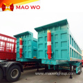 Hydraulic 40 Cubic Meter 3 Axles Tipper Trailer