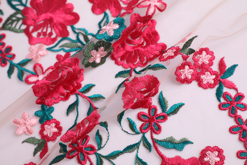 Bridal Dress Embroidery Fabric