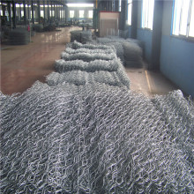 Galfan Woven Gabion for Flood bank netting cage mesh