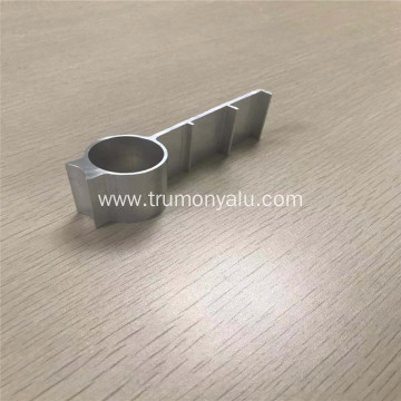 6063 CNC Aluminum stamp profile for heat sink
