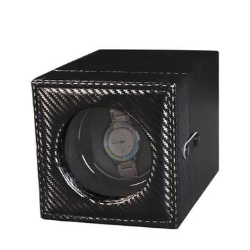 Single Watch Winder Case With PU Leather