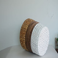 Round water hyacinth and maize rope storage