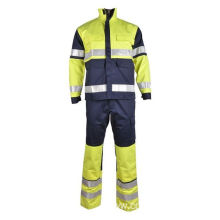 Pakaian Safety Aramid Fire Retardant Suit Coverall