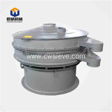 Fully enclosed vibrating sifter for food