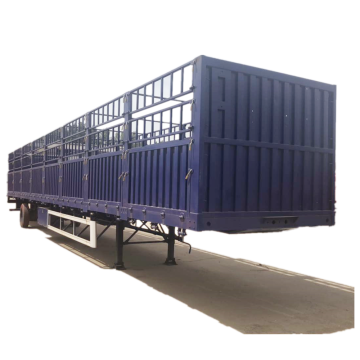 Grid Position Cargo Stakes Semi Trailer