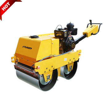 CVT Speed 550kg Walk Behind Vibratory Smooth Drum Roller Compactor