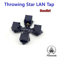 passive Ethernet tap throwing Star LAN Tap Network Packet Capture Mod Replica Monitoring Ethernet Communication