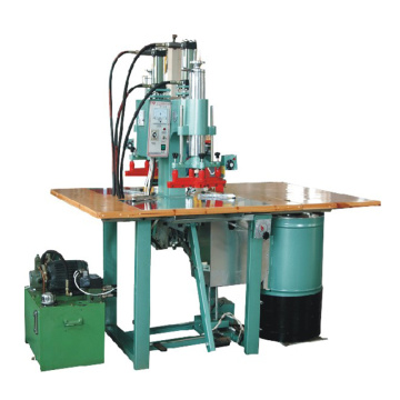 Double head high frequency carpet welding machine