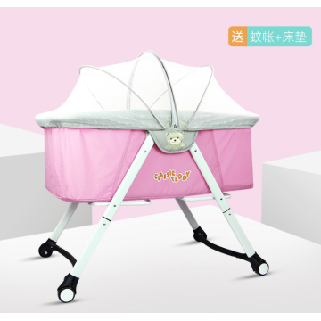 PORTABLE SMALL BABY CRIBS SHAKER