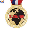 Custom with own design metal logo medals