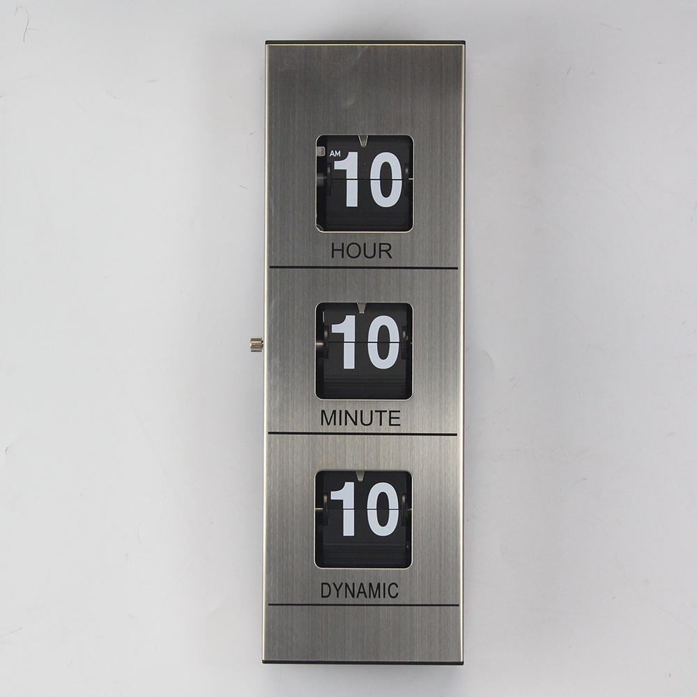 Modern Fireplace Clock