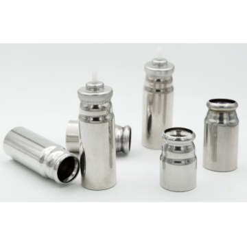 MDI canister' plain canisters