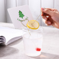 Stainless Steel Fruit Needle With Card Holder