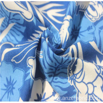 Hotsale 100%rayon twill printed fabric for garment