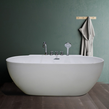 Clear Glass Round Bathtub in Saudi Arabia
