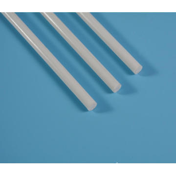 11mm fiberglass solid pole white any length