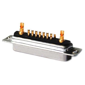 POWER D-SUB 17W2 SOLDER CUP-FEMALE