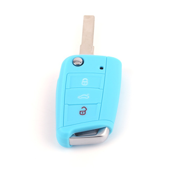 Hot Silicone Car Auto Key Cover VW