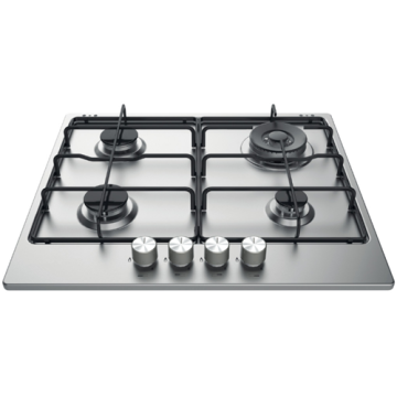 Stainless Gas Cooktops Hotpoint 60cm