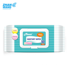 Factory Direct Supply Disposable Hand Sanitary Wipes