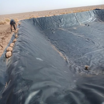 ASTM standard hdpeldpe geomembrane line