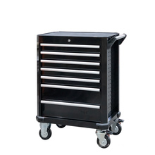 7 Drawer Black Tool Cabinet