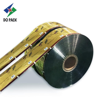 Honey aluminum packaging roll stock printing packaging film for automatic packing