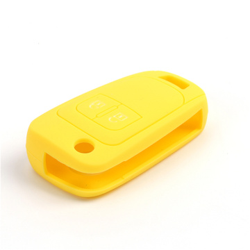 Newest Debossed Silicone Opel car key Cover