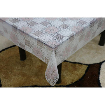 Printed pvc lace tablecloth by roll nautical