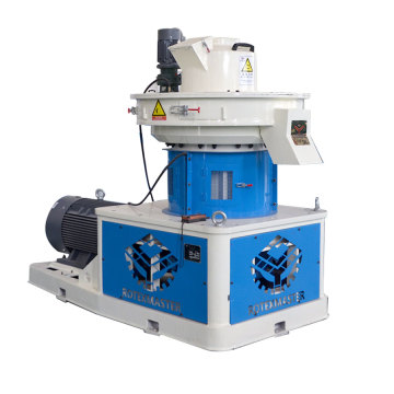 vertical ring die pellet mill